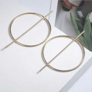 NEW Future Men's Round Earring Set Ear Accessories